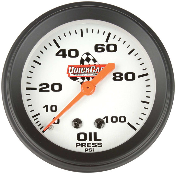 611-6004 Oil Pressure Sprint Gauge Only Quickcar Racing Products