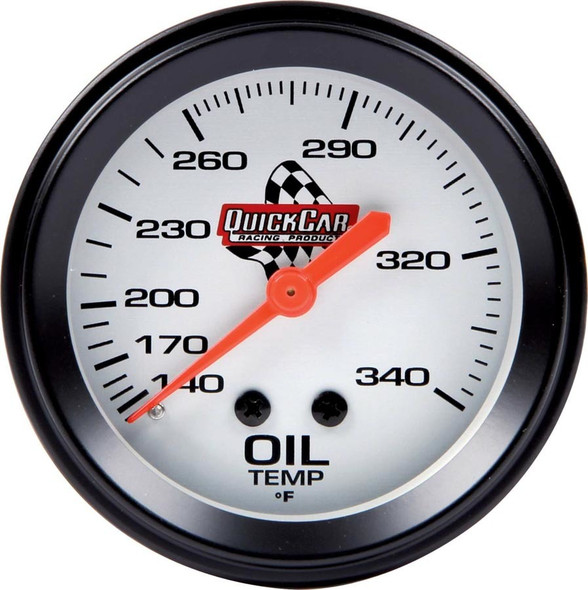 611-6009 Oil Temp. Gauge 2-5/8in Quickcar Racing Products