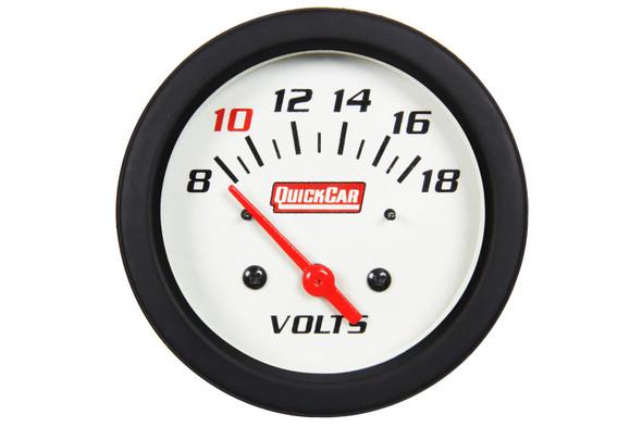 611-7007 Extreme Gauge Volt Meter Quickcar Racing Products