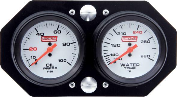 61-6006 Gauge Panel Pro Sprint Vertical Mount Quickcar Racing Products