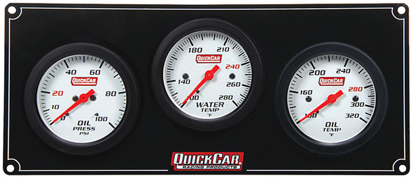 61-7011 3 Gauge Extreme Panel Quickcar Racing Products