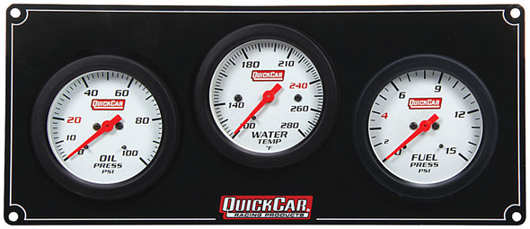 61-7012 3 Gauge Extreme Panel Quickcar Racing Products