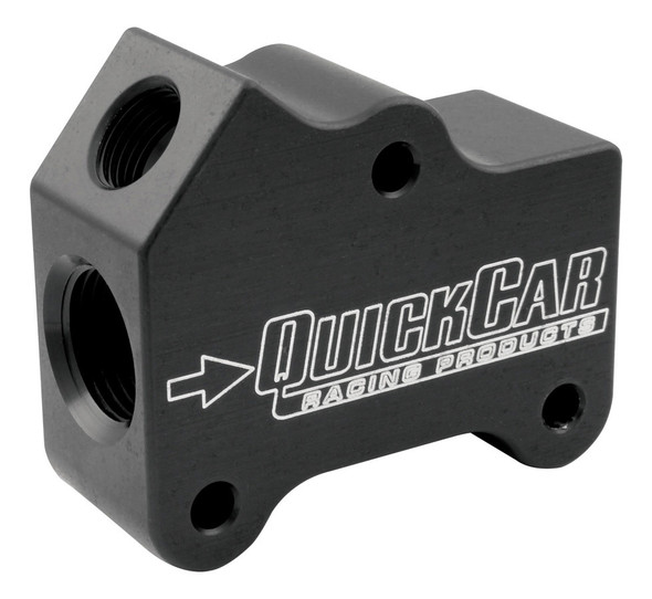 61-755 Oil Gallery Manifold Temp Port 10AN Quickcar Racing Products