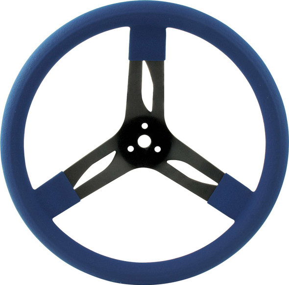 68-0032 15in Steering Wheel Steel Blue Quickcar Racing Products