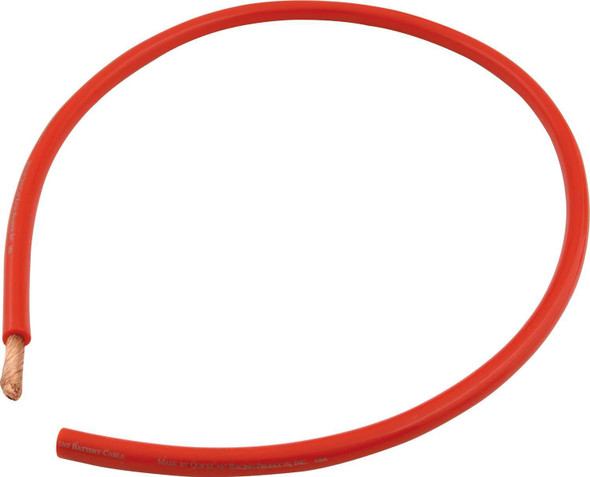 Red 4 AWG Battery Cable 57-091