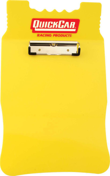 51-044 Acrylic Clipboard Yellow Quickcar Racing Products