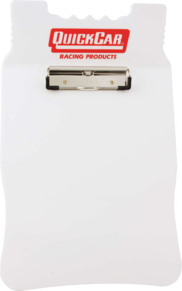 51-046 Acrylic Clipboard White Quickcar Racing Products