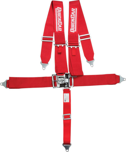 5 Pt. Safety Harness SFI-16.1 Red 58-011