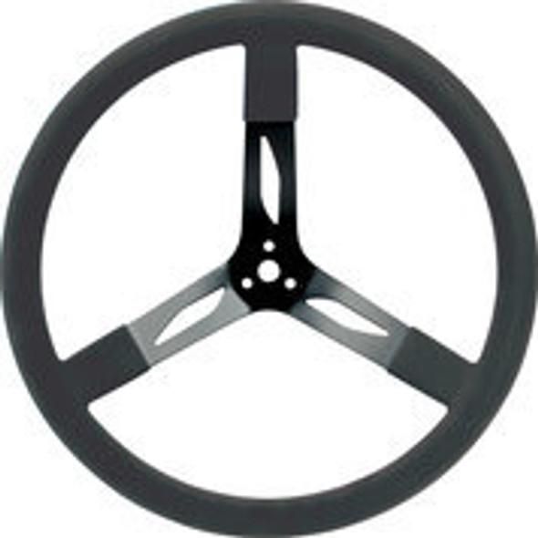 "68-004 Steel Steering Wheel 17"" Black Quickcar Racing Products"