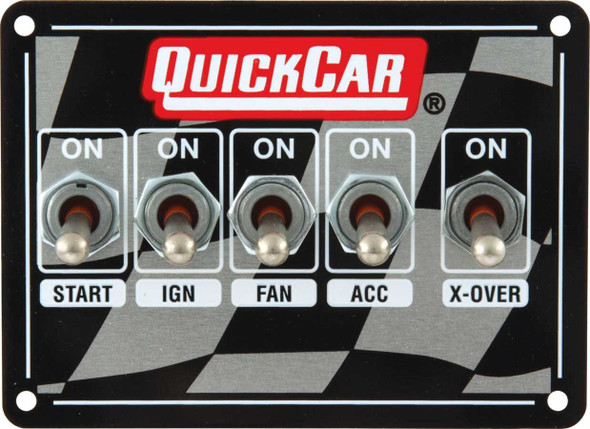 50-1711 Ignition Panel Dual Box Quickcar Racing Products