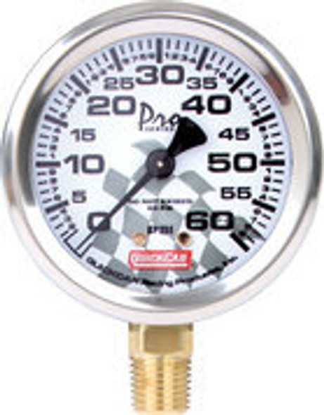 56-006 Tire Pressure Gauge Head 0-60 PSI Quickcar Racing Products