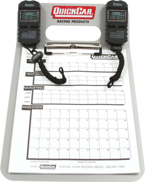 51-070 Dual Timing Clipboard Quickcar Racing Products