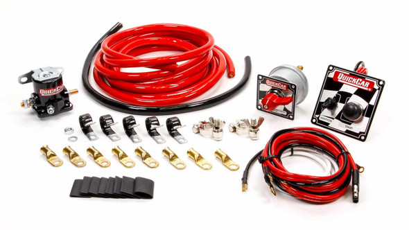 4 AWG Wiring Kit w/ 50-102 Switch Panel 50-235 Quickcar Racing Products