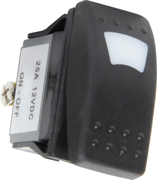 52-602 Rocker Switch Lighted On/Off Blue Quickcar Racing Products