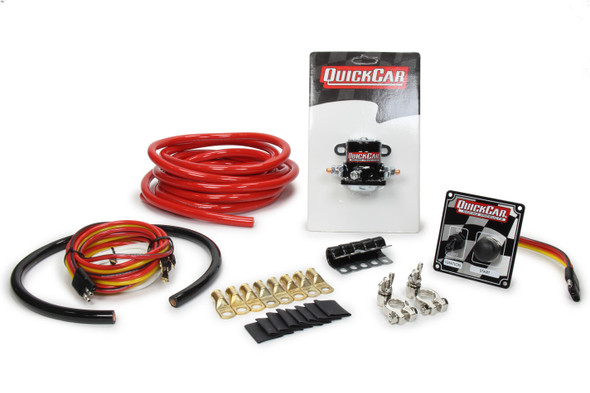 2 AWG Wiring Kit Without Master Disconnect Switch 50-234 Quickcar Racing Products