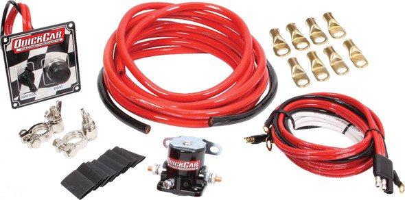 50-236 Wiring Kit 4 Gauge w/o Disconnect w/ 50-102 Ign Quickcar Racing Products