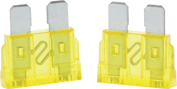 50-920 20 Amp ATC Fuse Yellow 5pk Quickcar Racing Products