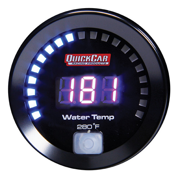 67-006 Digital Water Temp Gauge 100-280 Quickcar Racing Products