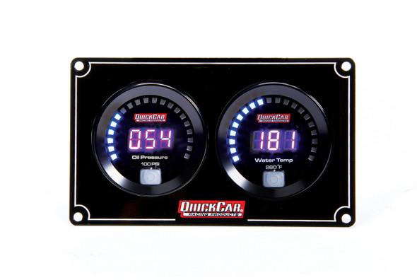 67-2001 Digital 2-Gauge Panel Quickcar Racing Products