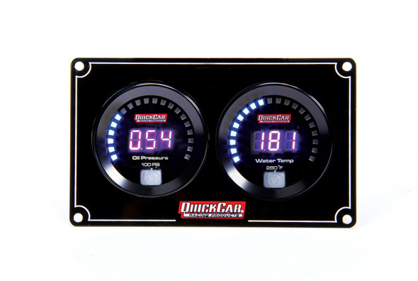 67-2001 Digital 2-Gauge Panel Quickcar Racing Products