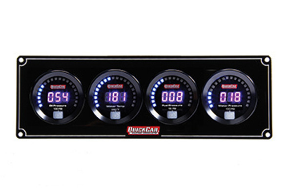 67-4026 Digital 4-Gauge Panel /WP Quickcar Racing Products