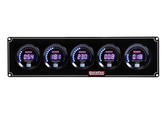 QUICKCAR RACING PRODUCTS 67-2001 DIGITAL 2-GAUGE PANEL