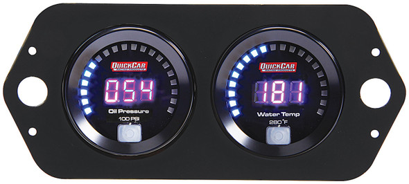 67-2004 Digital Open Wheel Gauge Panel Quickcar Racing Products
