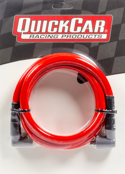 40-605 Coil Wire - Red 60in HEI/Socket Quickcar Racing Products