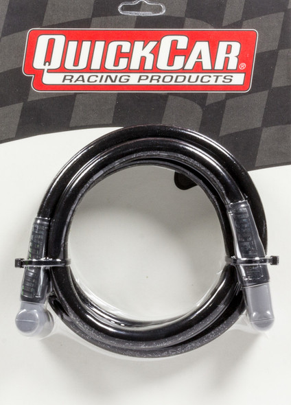 40-607 Coil Wire - Blk 60in HEI/Socket Quickcar Racing Products