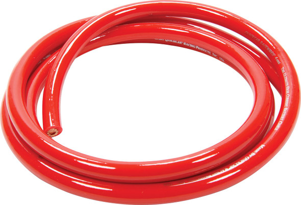 57-341 Power Cable 4 Gauge Red 5Ft Quickcar Racing Products