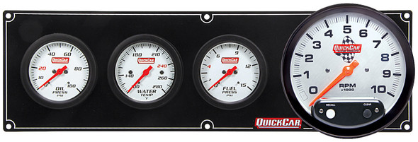 61-7742 Extreme 3-1 OP/WT/FP w/ 5in Tach Quickcar Racing Products