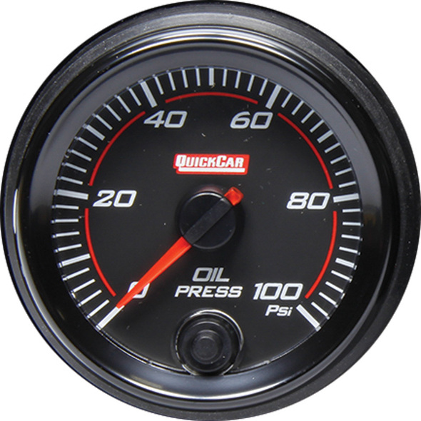 69-003 Redline Gauge Oil Pressure Quickcar Racing Products