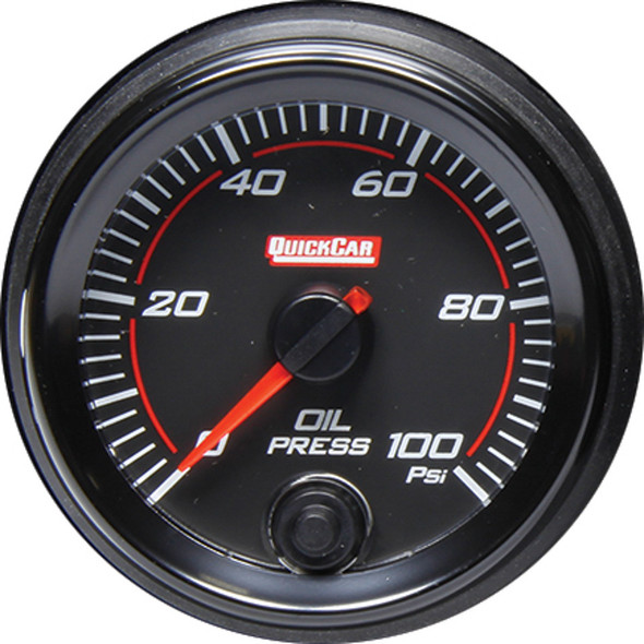 69-003 Redline Gauge Oil Pressure Quickcar Racing Products