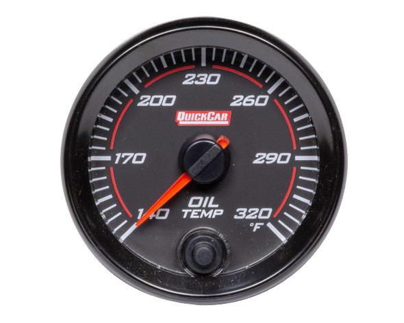 69-009 Redline Gauge Oil Temperature Quickcar Racing Products