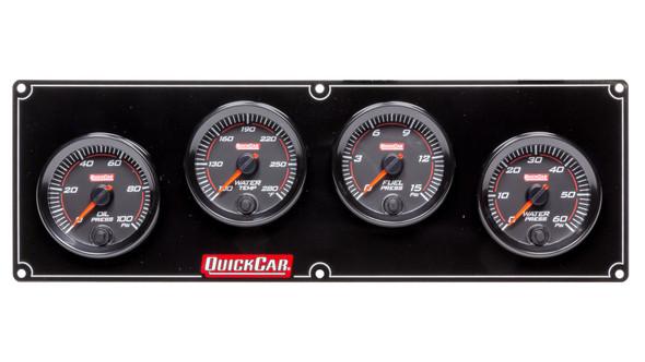 69-4026 Redline 4 Gauge Panel OP/WT/FP/WP Quickcar Racing Products