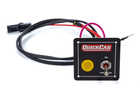 3-Wheel Brake Panel w/ Light QRP50-035 Quickcar Racing Products