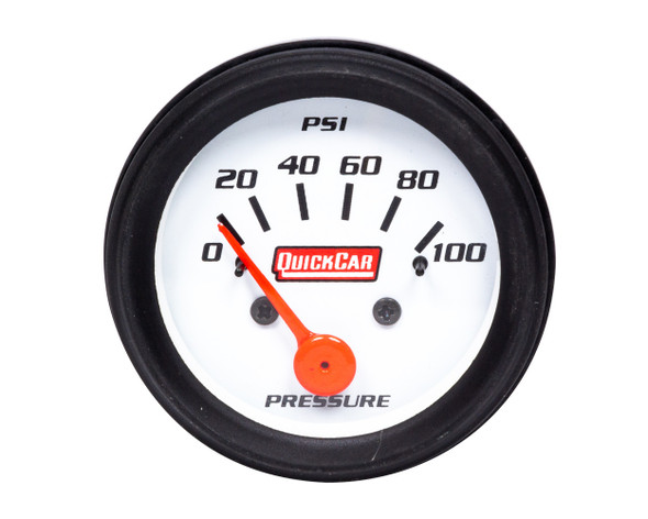Gauge Oil Pressure 2in Open Wheel QRP611-6204 Quickcar Racing Products