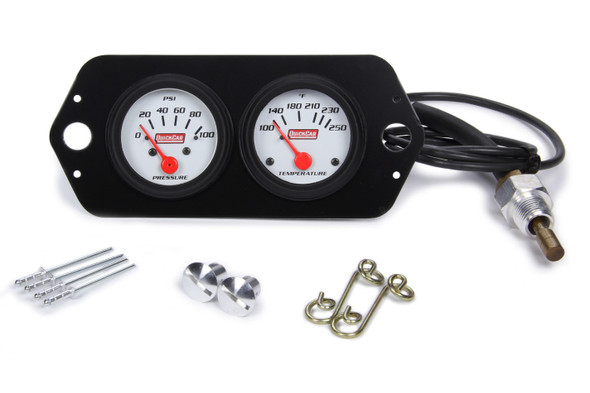Gauge Panel 2in Open Wheel QRP61-2204 Quickcar Racing Products