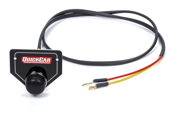 Remote Start Button w/ Plate QRP50-433 Quickcar Racing Products