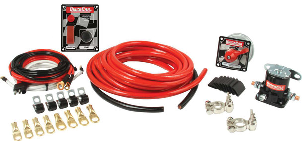 2 AWG Wiring Kit w/ 50-053 Switch Panel 50-230 Quickcar Racing Products