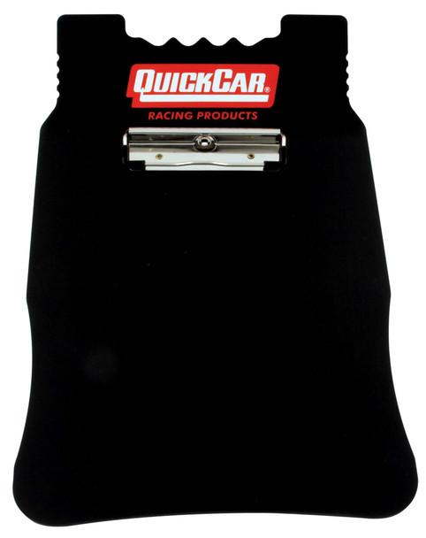 51-043 Acrylic Clipboard- Black Quickcar Racing Products