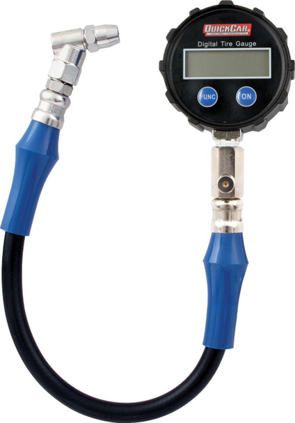 56-085 Deluxe Digital Tire Gauge 0-60 PSI Quickcar Racing Products