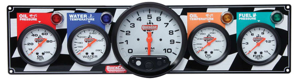 61-6051 4 Gauge Panel w/ 5inTach Quickcar Racing Products