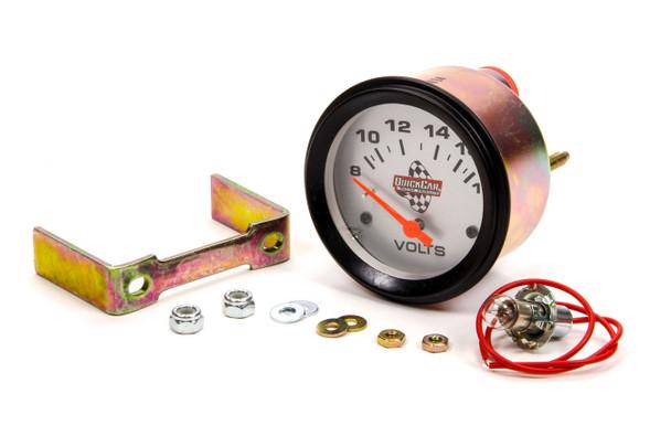 "611-6007 Voltmeter Gauge 2-5/8"" Quickcar Racing Products"