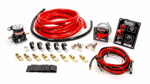 2 AWG Wiring Kit w/ 50-853 Switch Panel 50-830 Quickcar Racing Products