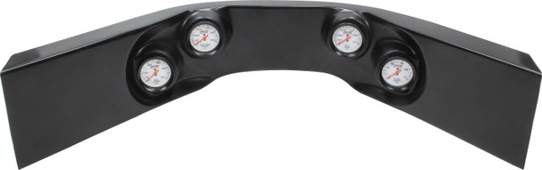 61-7724 Extreme 4-Gauge Molded Dash Black Quickcar Racing Products