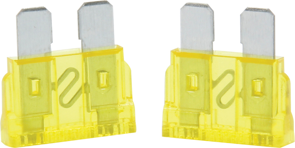 50-920 20 Amp ATC Fuse Yellow 5pk Quickcar Racing Products