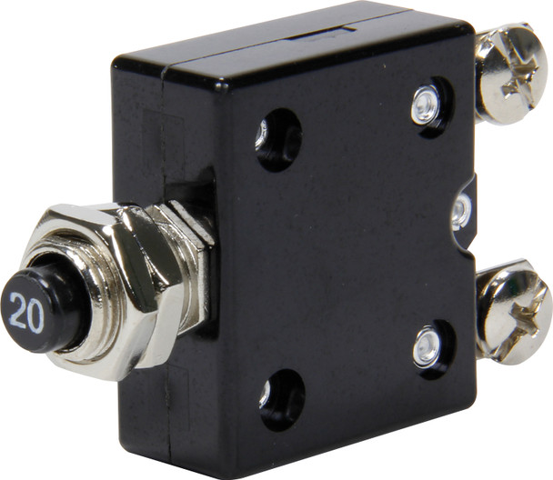 50-9720 20 Amp Resettable Circuit Breaker Quickcar Racing Products