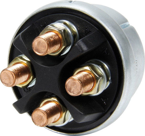 High Current Alternator Master Disconnect Switch with Black Plate 55-013