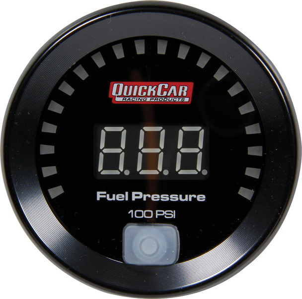 67-005 Digital Fuel Pressure Gauge 0-100 Quickcar Racing Products